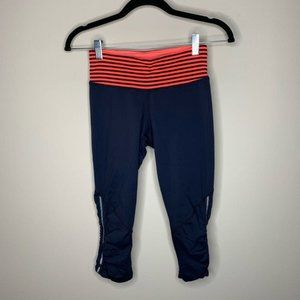 Lululemon Inkwell Run: For Your Life Crop size 4